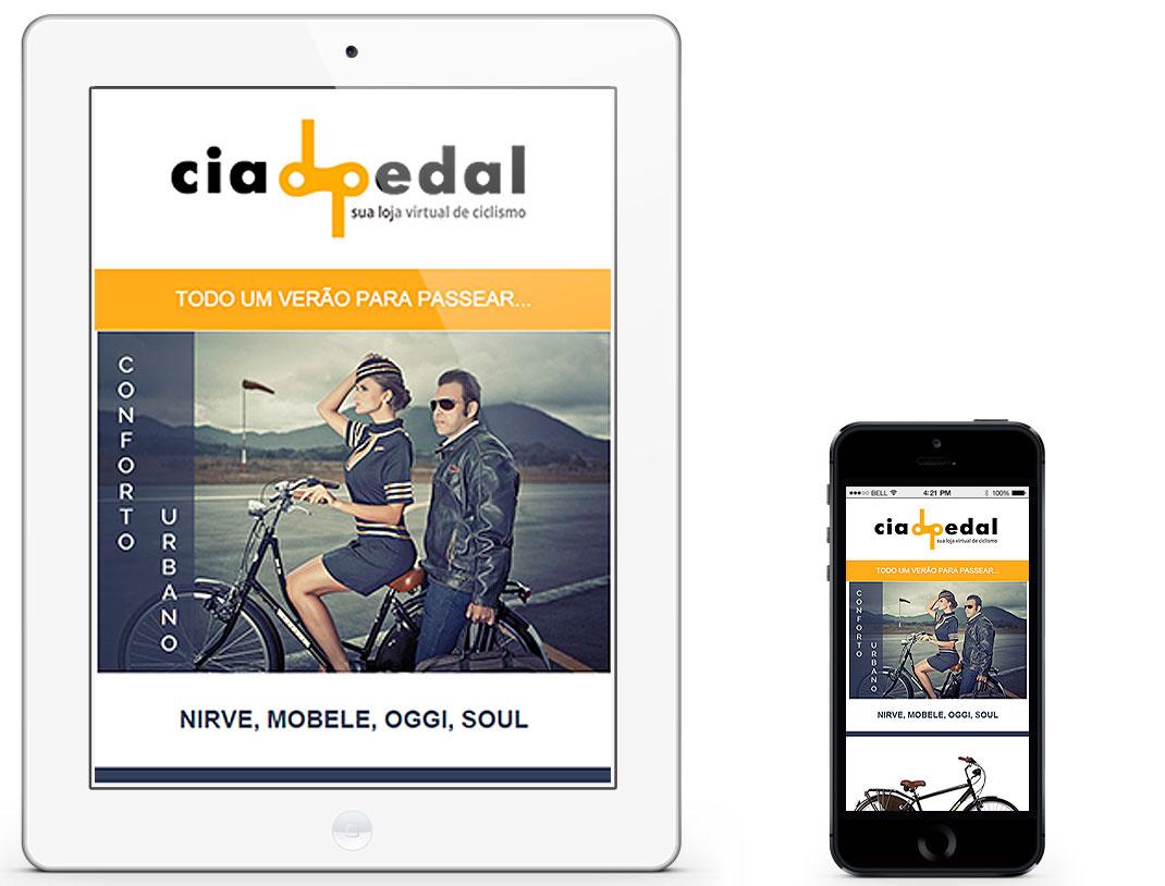 Email Cia do Pedal